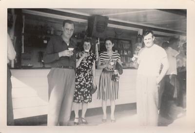 Earl, Eileen Orpha & Ellis Sullivan - 1948