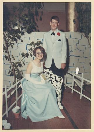 Berta Thurston & Max Sullivan - Prom circa 1967