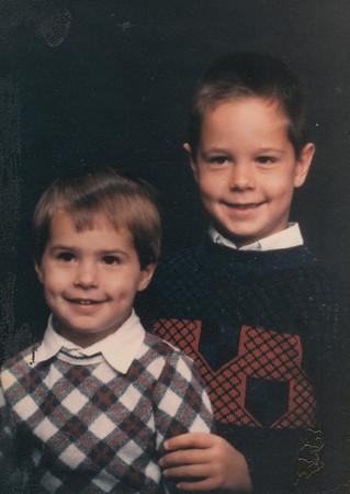 Andrew & Zachary Hiller circa 1988