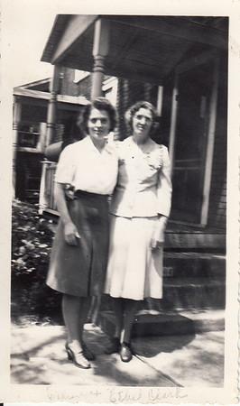 Eileen & Ethel Clark - 1940s