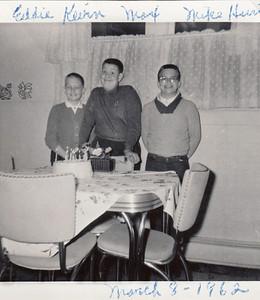 Eddie Keirn, Max Sullivan & Mike Hurt - March 8, 1962
