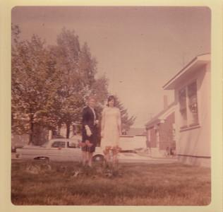 Eileen & Jane SUllivan - Spring 1966