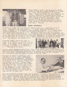 Chessie System Safety News - First Quarter 1982 - Ellis Sullivan