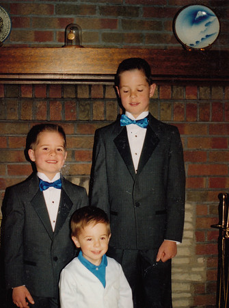 Andrew, Jacob & Zachary Hiller - Circa 1989