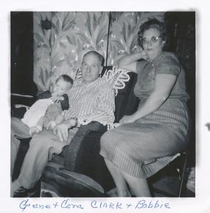 Bobbie, Gene, Cora Clark