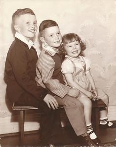 Ed, Bob, Mary Ann Clark