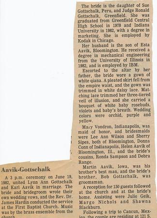 Newspaper (June 1982)