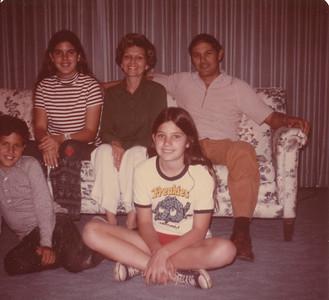 Sue, Dick Tami, Tim & Karen Mackey (Elba's Daughter) 1975