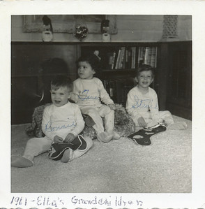 Elba's Grandchildren 1961 (Ronnie Bennett, Tami Mackey, Stevie Bennett)