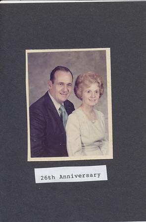 26th Anniversary 1974