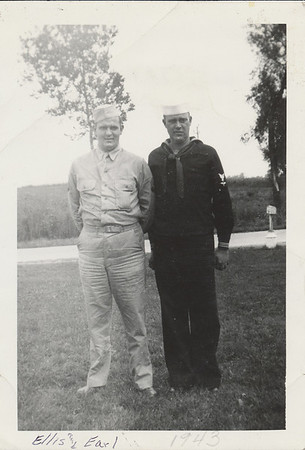 Ellis and Earl Oct 1943