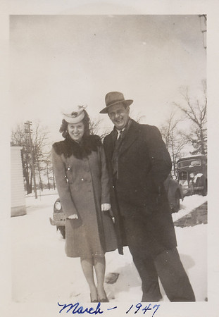 Ellis & Eileen March 1947