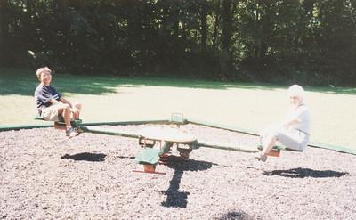 Jacob Hiller & Eileen Sullivan Aug 1999 (West City Park)
