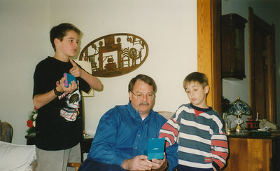 Andrew, Nick & Jacob Hiller 1996