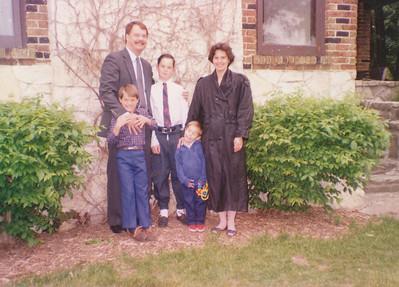Jane, Nick, Zach, Andrew & Jacob Hiller 1992