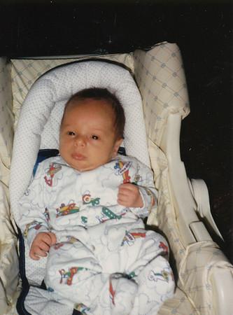 Jacob Hiller  6 weeks old (March 1988)