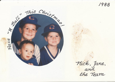 Christmas 1988 Hillers