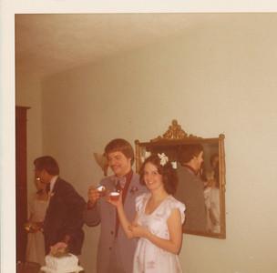 Nick & Jane Hiller 1973 (First toast)