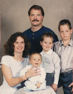 The Hiller Family 1989