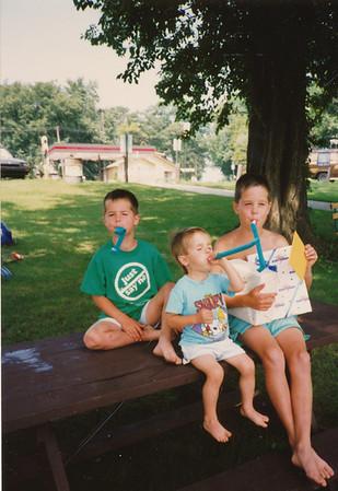 Zach, Andrew & Jacob Hiller 1990
