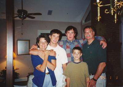 Jane, Andrew, Zach, Jacob & Nick Hiller (8-26-2000)