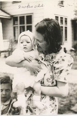 Sharon Elaine Clark (8 weeks Old) 1943