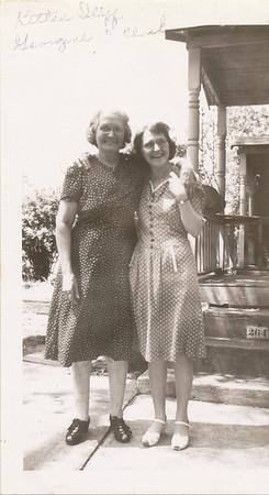 Kittie Iliff & Georgine Iliff Clark