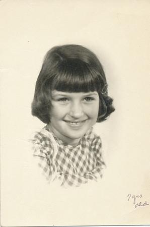 Sharon Clark 7 years old 1950
