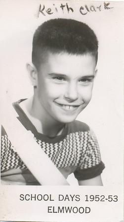 Keith Clark (Elmwood School 1952-53)