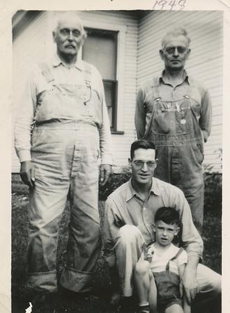 4 Generations Marion Clark