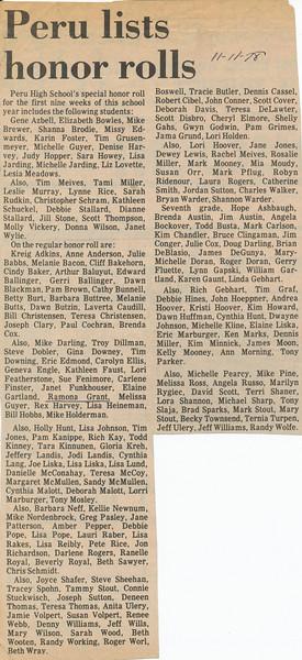 Newspaper (Nov 11, 1978)