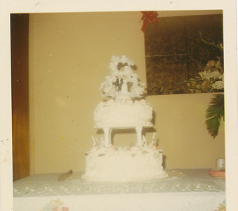 Wedding Cake 1970