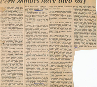 Newspaper (Ramona seniors honored)