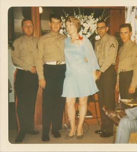 Lydia and the boys 1970
