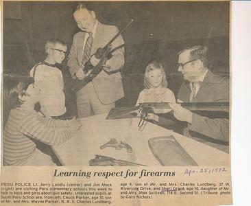 Newspaper (Shari April 25, 1972)