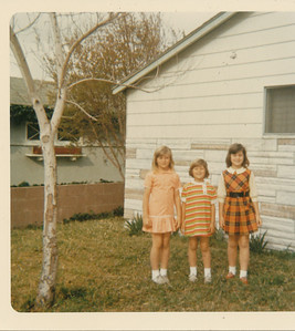Shari, Annette & Ramona 1970