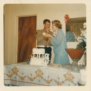Max & Lydia eat cake