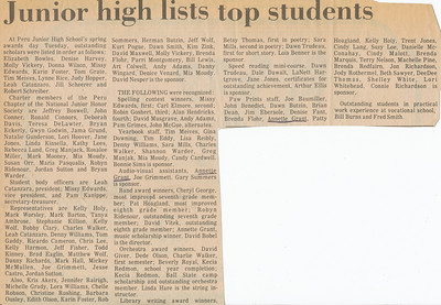 Newspaper (Annette Top students)
