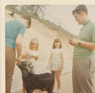 Jeff, Shari, Mona, Max & Goat 1970