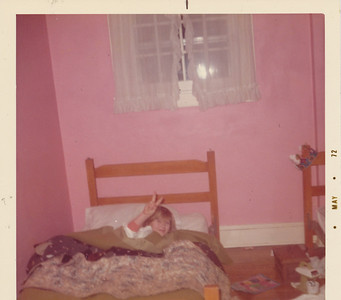 Shari in bed 1972