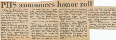 Newspaper (Shari honor roll)