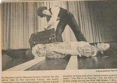 Newspaper (Ramona 1980)