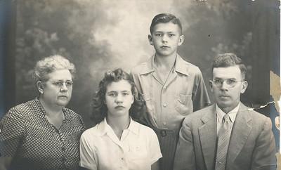 Mary (Sullivan), Charlene, Bill & Roy Myers