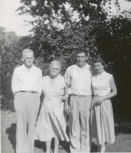 Roy, Mary, Bill, Charlene Myers