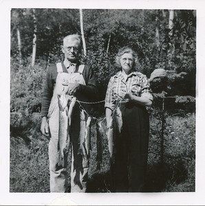Orval & Ethel Clark (gone fishing)