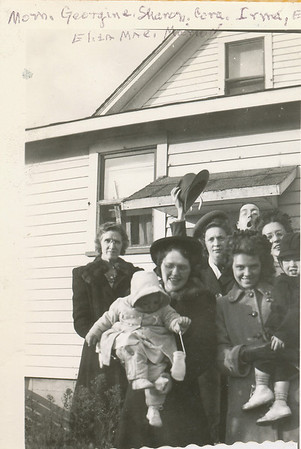 Ethel, Geogine, Cora, Irma, Eddie, Eliza Mae, Marion