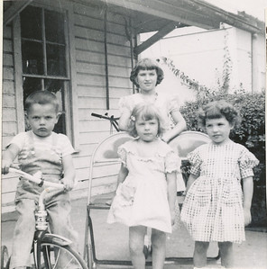 Steven, Mary Ann, Sharon, Susan 1951