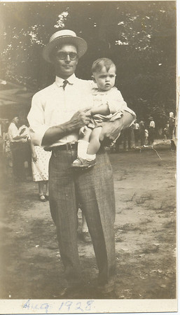 Dale Lavern Clark 1928 14 months old (Eileen's Brother)