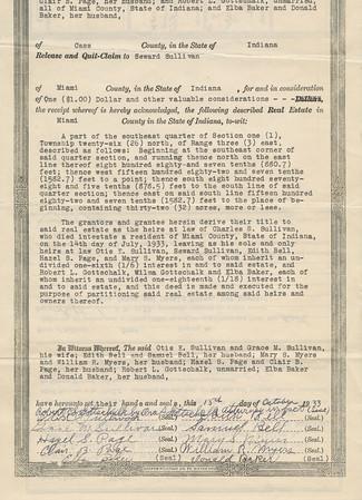 Quit-Claim Deed b (Seward Sullivan 1934)