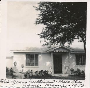 Otis & Grace Sullivan 3-21-1959 (Their Home in Florida)
